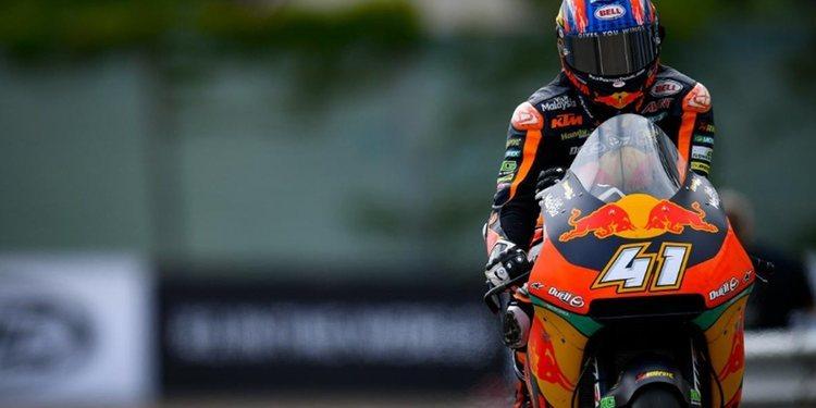 """Brad Binder: """"El título de Moto2 aún no está decidido"""""""