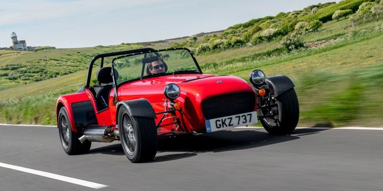 El Caterham Seven 485 CSR disponible para Europa
