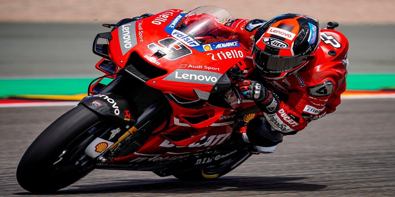 """Danilo Petrucci, sobre Ducati: """"Muestran un gran compromiso"""""""
