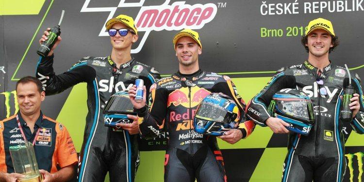 Moto2 2018: Miguel Oliveira se coloca líder de la clasificación