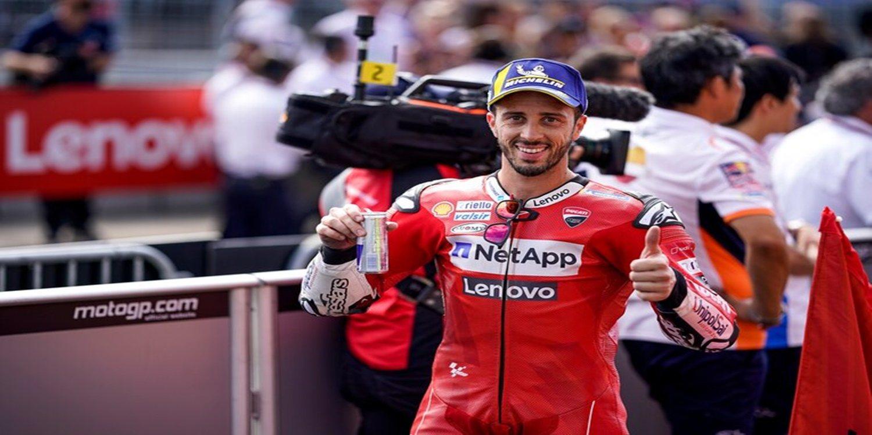 """Andrea Dovizioso, sobre Márquez: """"Él era más fuerte que yo en las frenadas"""""""