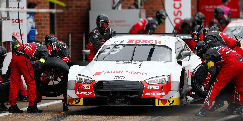 Dominio absoluto de René Rast y Audi en la clasificación de Brands Hatch
