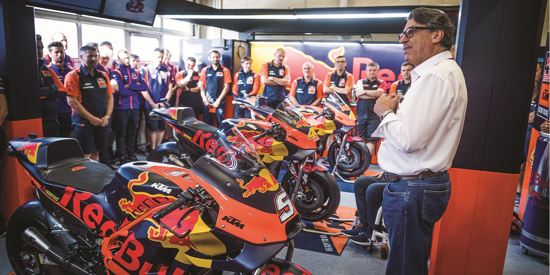 KTM abandonará Moto2 a final de temporada