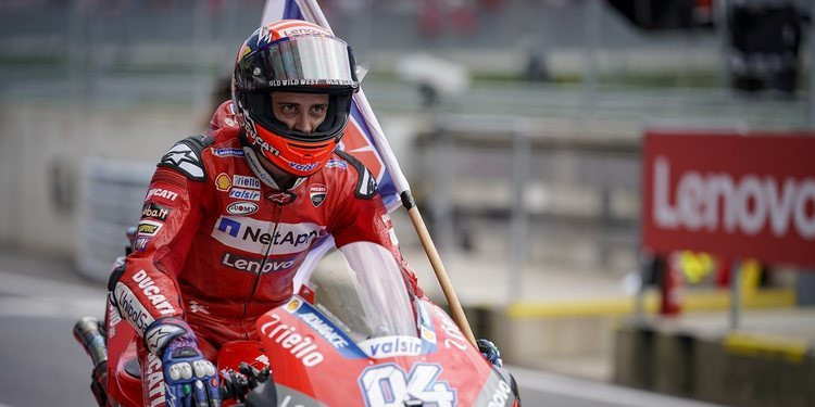 "Andrea Dovizioso: ""Esta victoria era realmente importante para mí"""