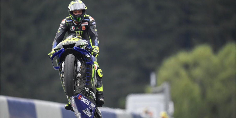 """Valentino Rossi: """"Algo se mueve en Yamaha y eso me hace feliz"""""""