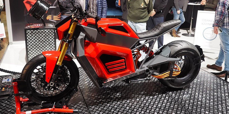 La motocicleta eléctrica RMK E2 ya es una realidad