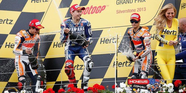 Mirada al pasado: Silverstone 2013, Lorenzo bate a Márquez