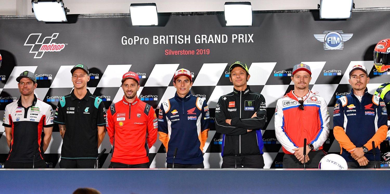 Rueda de prensa del GP de Gran Bretaña