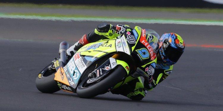 Jorge Navarro lidera unos libres de récord en Silverstone