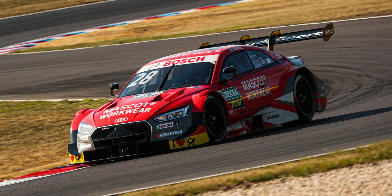 Duval y Green los más rápidos en los entrenamientos de Lausitzring