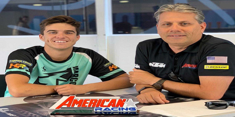 Marcos Ramírez subirá a Moto2 con el American Racing