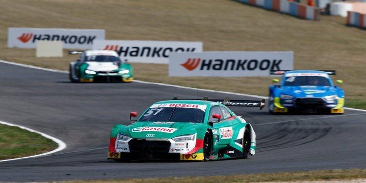 Nico Müller gana en Lausitzring aprovechando el abandono de Rast