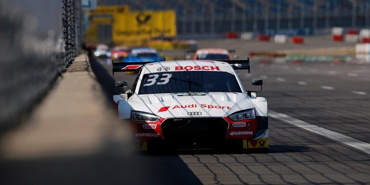 René Rast le gana la partida a Nico Müller en la carrera 500 del DTM