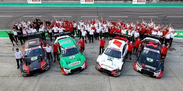 Audi Sport, se convierte en campeón de fabricantes del DTM