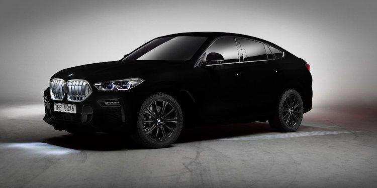 BMW traerá para Frankfurt el X6 Vantablack
