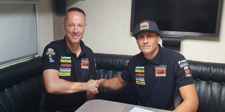 Ivo Monticelli amplía contrato con Standing Construct KTM