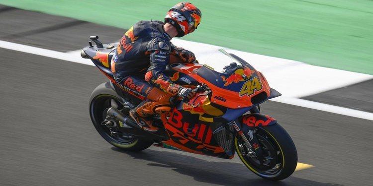 Pol Espargaró, satisfecho con la KTM de 2020 y el trabajo de Pedrosa