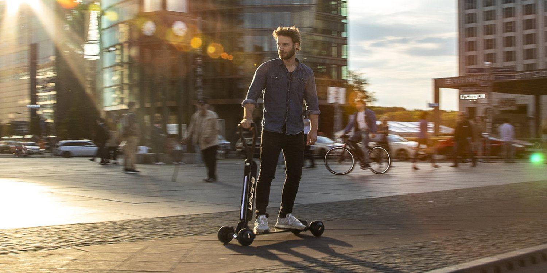 Nuevo Audi e-Tron Scooter Concept