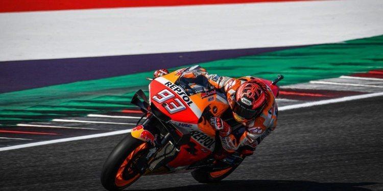 """Marc Márquez: """"A veces la moto no está lista, pero aún así lo intento y por eso me caigo"""""""