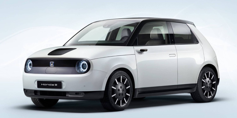 Honda confirmó su prototipo e para Frankfurt