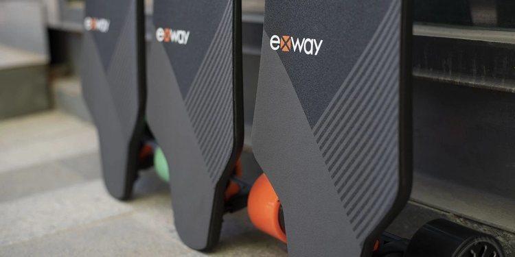 Exway X1 Pro monopatín eléctrico con motores de 600W
