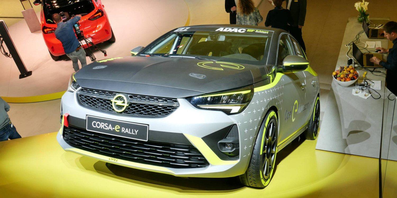 Opel presentó el Corsa-e EV