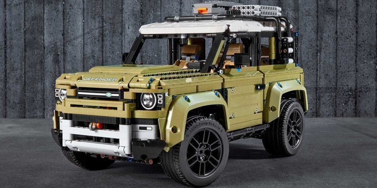 Nuevo Land Rover Defender de LEGO Technic
