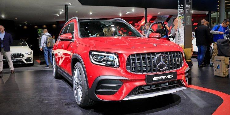 Mercedes presentó el AMG GLB 35