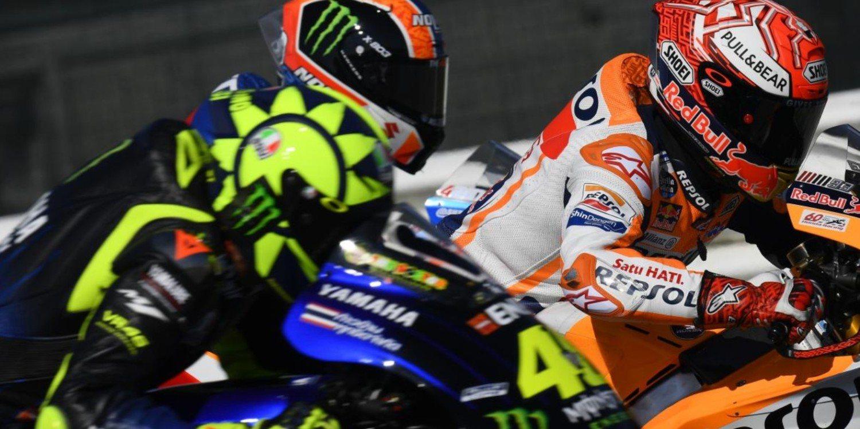 """Valentino Rossi: """"Continué apretando porque consideré que era mi último intento"""""""
