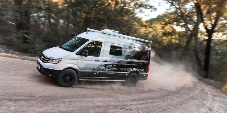Volkswagen Crafter 4MOTION by Trakka