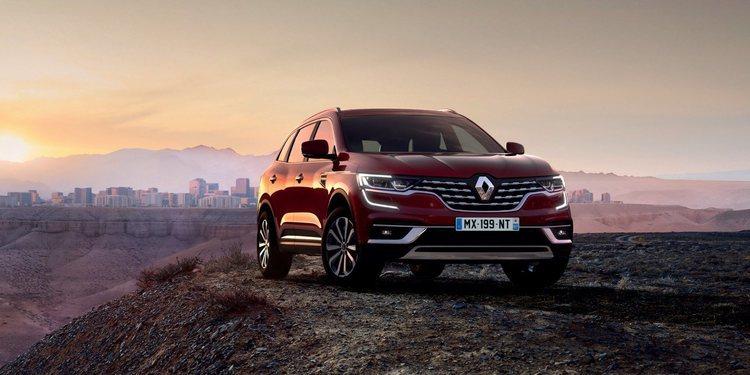 Renault actualiza el Koleos para Reino Unido