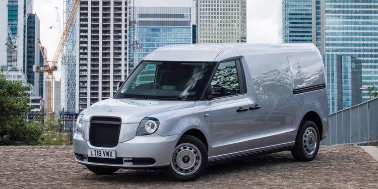 El nuevo coche comercial de LEVC con autonomía extendida