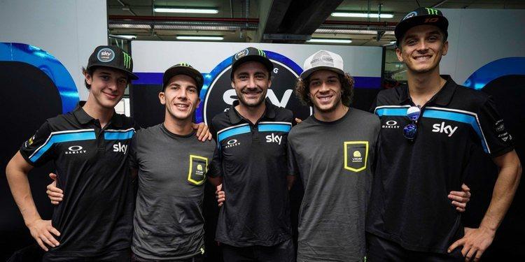 Confirmada la formación del Sky Racing Team VR46 la próxima temporada