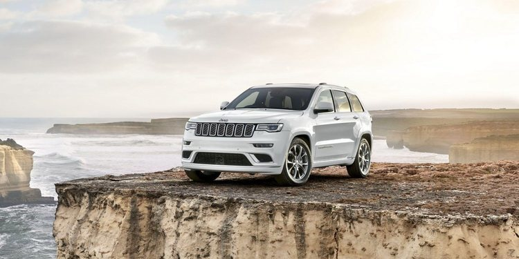 Nueva Jeep Grand Cherokee Summit para Australia