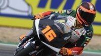 Andrea Migno comanda los libres de Moto3