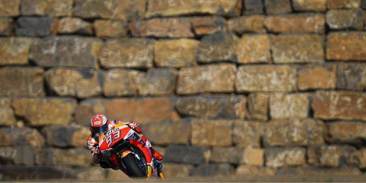 Marc Márquez, a por su sexta victoria en Aragón desde la pole