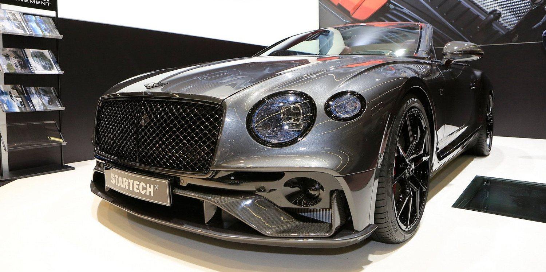 Presentado el Bentley Continental GT by Startech