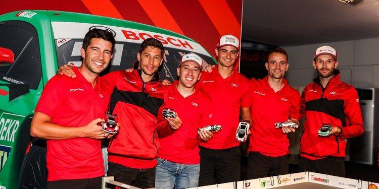 Rast, Rockenfeller, Duval y Treluyer correrán por Audi en la carrera junto al SuperGT