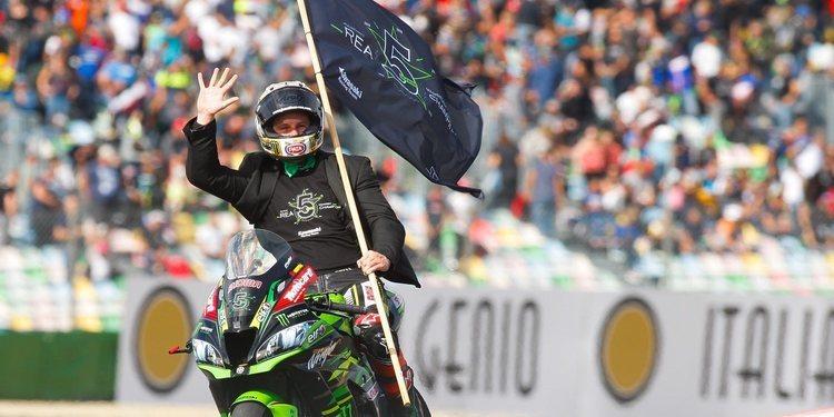 Jonathan Rea se corona en la Race 2