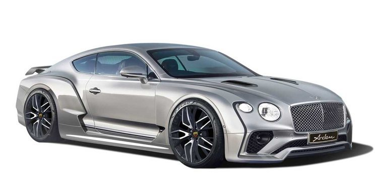 El Bentley Continental GT de Arden