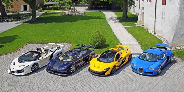Subastados lujosos coches del hijo del presidente de Guinea Ecuatorial