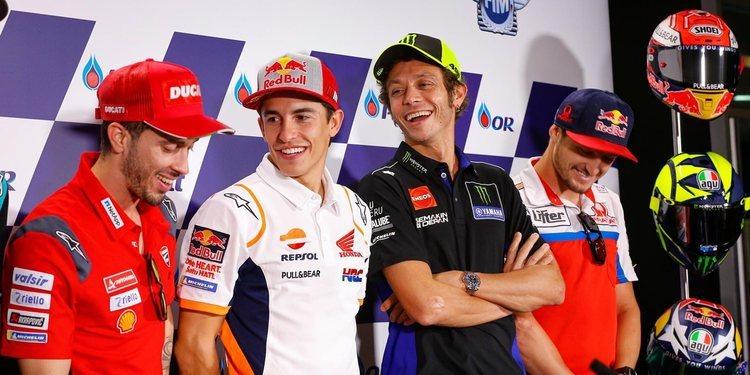 Rueda de prensa del Gran Premio de Tailandia