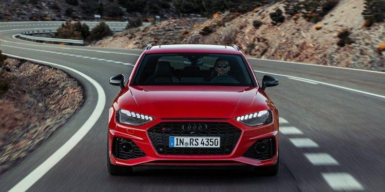 Audi RS4 Avant 2020 facelifted