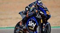 Luca Marini marca el mejor tiempo de los entrenamientos libres de Moto2