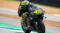 """Valentino  Rossi: """"Las Yamaha somos fuertes aquí"""""""
