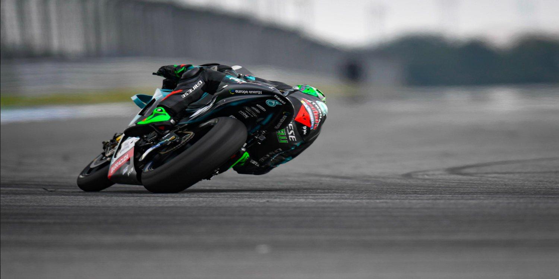 """Franco Morbidelli: """"Fue un día positivo para nosotros, y la moto me está funcionando bastante bien"""""""