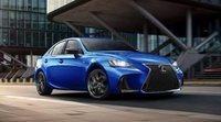 Nuevo Lexus IS F Sport Blackline 2020