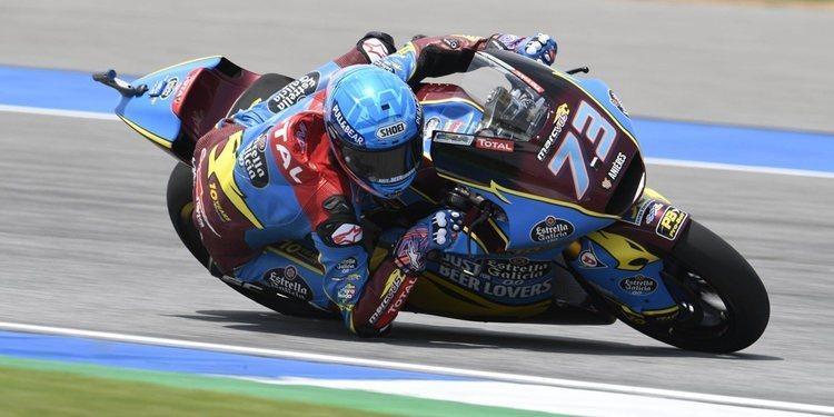 Álex Márquez pole con Jorge Navarro fuera de la Q2
