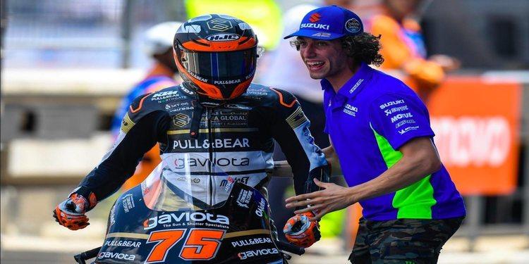 """Albert Arenas: """"La última curva ha sido brutal, tenía mucho control con el freno"""""""