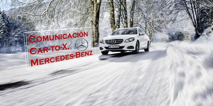 Mercedes-Benz demostrará que la comunicación Car-to-X es de alto nivel